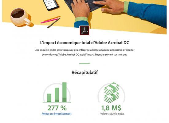 Total Economic Impact™ d'Adobe Acrobat DC